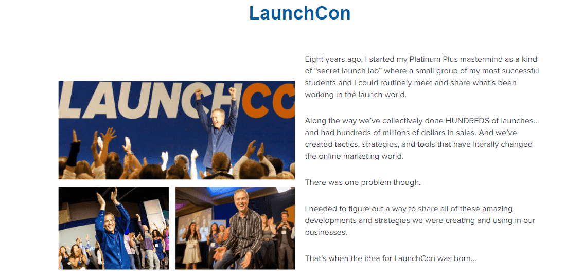 LaunchCon programs