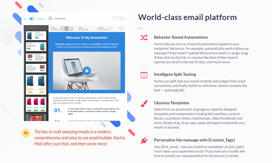 kartra mail