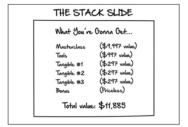 the stack