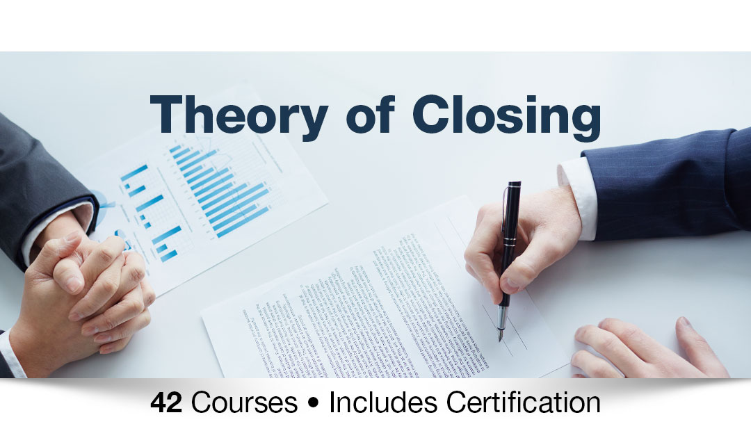 Theory of closing