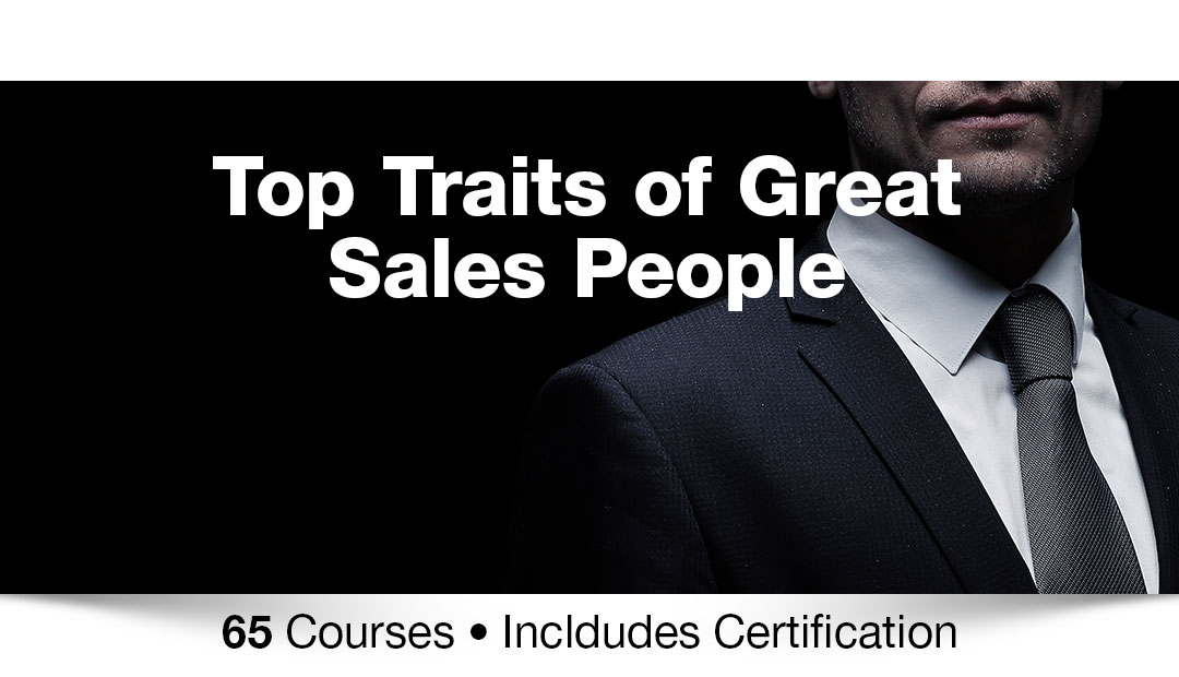 Top traits of great salespeople