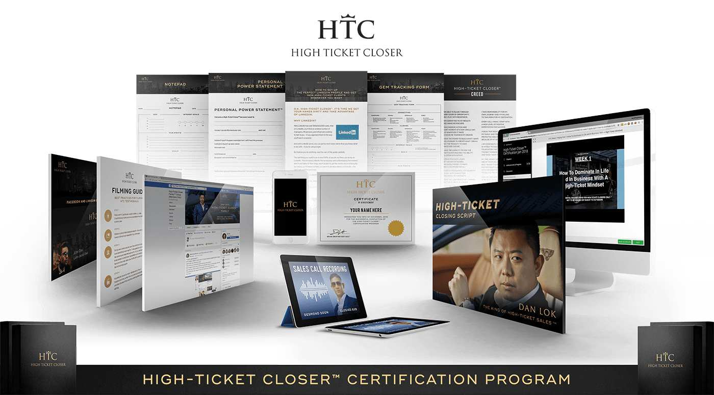 The High Ticket Closer Certification Program
