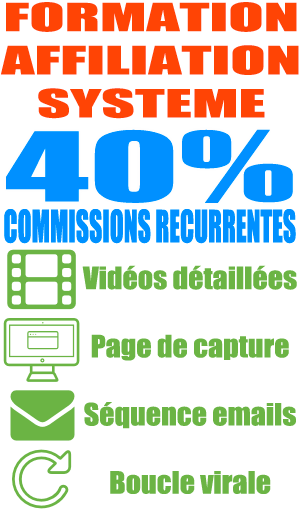 FORMATION AFFILIATION SYSTEME